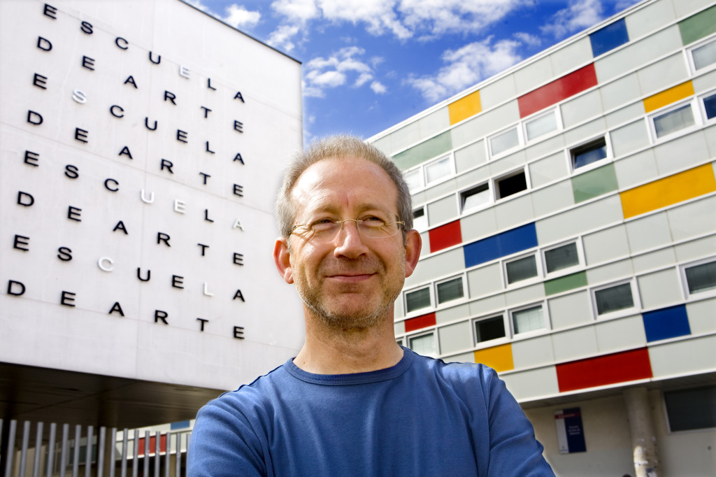 El director de la Escuela de Arte de Albacete, Pedro Blasco.