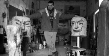 Sergio Delicado, el artista que todo lo que toca lo convierte en obra